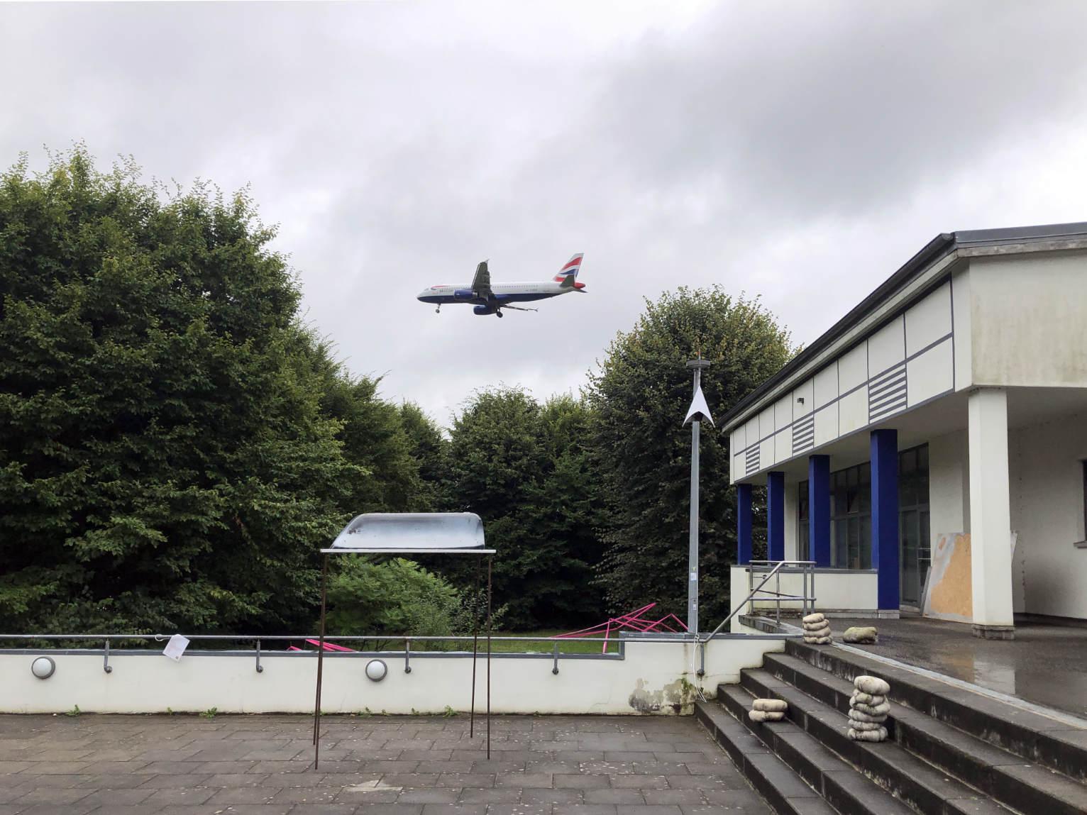 LTE Air mit Flugzeug über Sootbörn